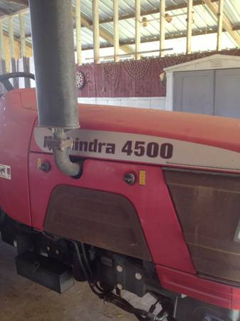 2003 Mahindra 4500 Diesel Implements - $12500 (Edinburg)