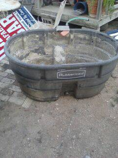 tubs for water use for livestock 150 gallons - $75 (hidalgo tx)