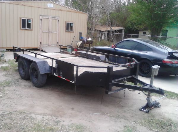 double axle trailer 6x13 - $750 (mission)