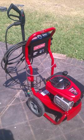 Craftsman Pressure Washer 2700psi Accesories - $250 (EdinburgSharyland)