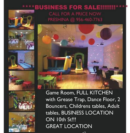 BUSINESS FOR SALE BY OWNER (10TH ST MCALLEN)