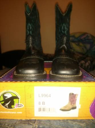 ARIAT FAT BABY boots - $65 (edinburg)