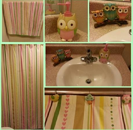 Kids owl bathroom set - $26 (weslaco)