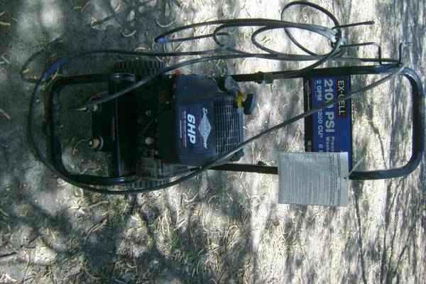 EX CELL 2100 PSI GASOLINE PRESSURE WASHER - $130 (PSJA)