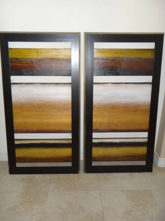 2 expensive frames from Lacks furniture (mcallen )