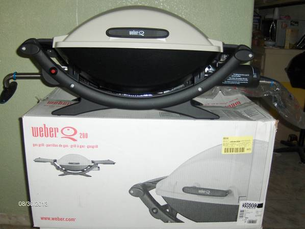 Sale Weber Q200 Gas Grill. New. - $175 (Mission)