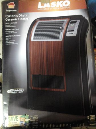 NEW IN THE BOX LASKO CICLONIC CERAMIC HEATER - $50 (Pharr )