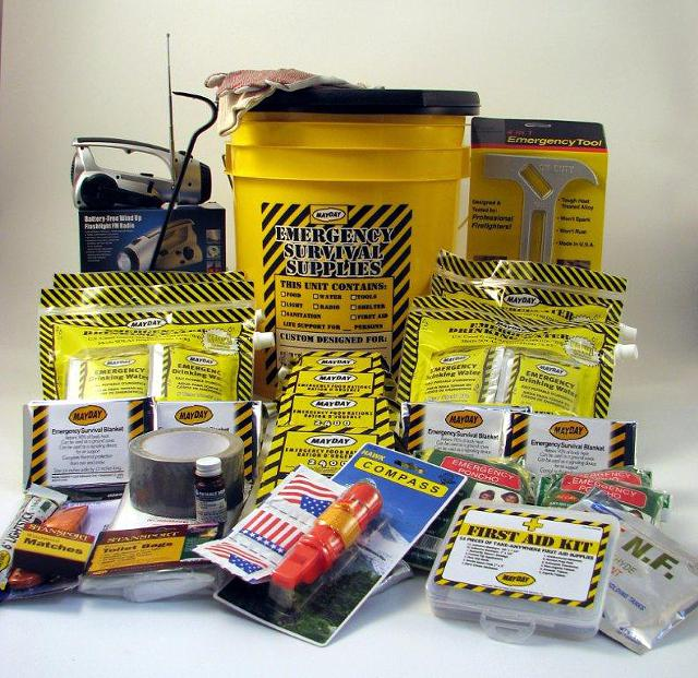 Tornado, Hurricane, Disaster Survival Kit