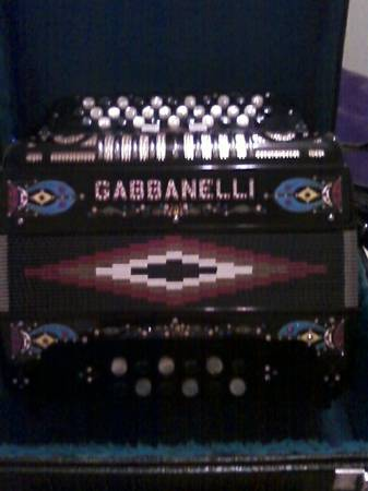 Gabbanelli Accordion  3-Switch $2100 OBO - $2100 (Mission, Texas)