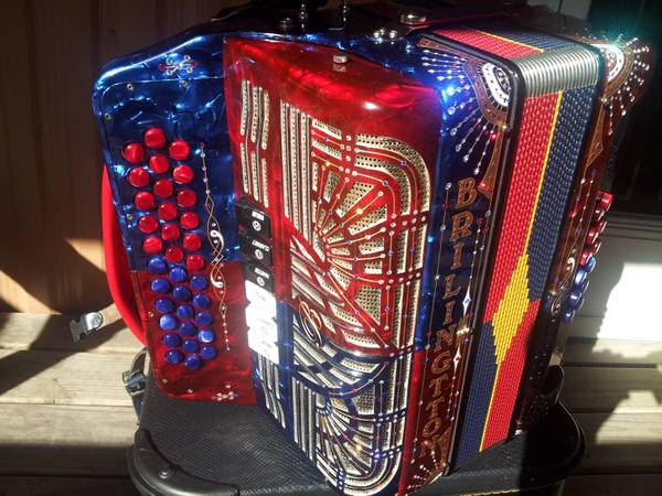 gabbanelli brilingtton accordion - $3100 (indianapolis)