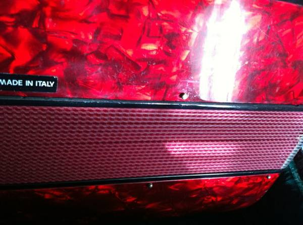 Gabbanelli accordion 3-switch gcf-sol - $2100 (San Benito )