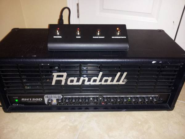 RANDALL RH150D SERIES AMP HEAD PEDAL.. EXCELLENT CONDITIONS - $235 (pharr tx)