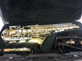 yamaha advantage sax YAS 200AD - $800 (mission, tx)