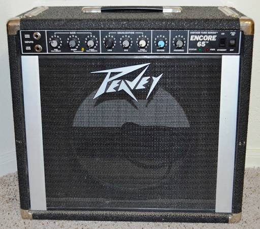 Peavey Encore 65, Made in USA, As-Is, Sell or Trade, Best Offer. (Nolana and McColl in McAllen)