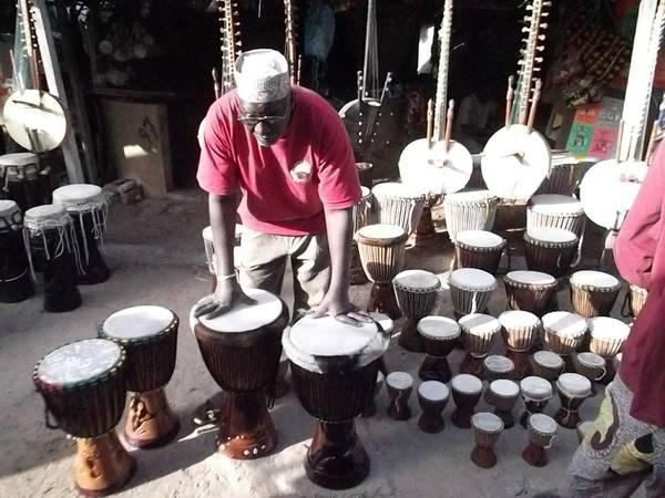 Djembe Drums From Africa Dakar  Senegal