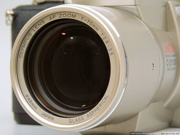 OLYMPUS 10X Optical Zoom C-2100UZ Digital Camera - $60 (N. McAllen)
