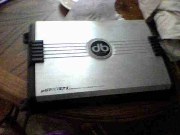 Wanted db drive Platinum Amp (Mercedes)