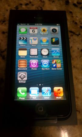 Iphone 5 FOR CRICKET - $600 (Mission)