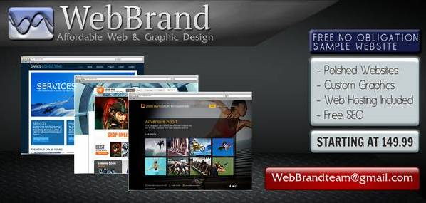 AFFORDABLE WEB  amp  GRAPHIC DESIGN AVAILABLE
