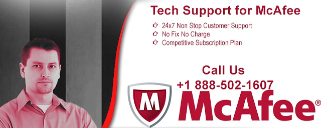 888 502-1607  Acquire Reliable Mcafee Antivirus Tech Support Services