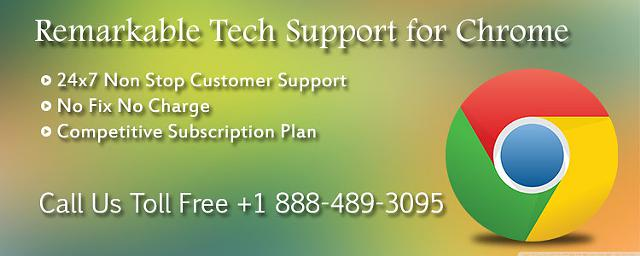 Make a Call on 1 888-489-3095 for Chrome Browsers Tech Support