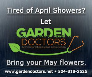 Garden Doctors is the premier landscaping company in New Orleans since 2005