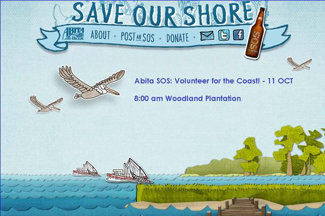 Abita SOS Volunteer for the Coast - 11 OCT