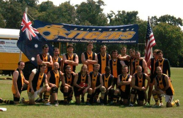 Come Try Australian Rules Football  It s not Rugby or Soccer   Baton Rouge