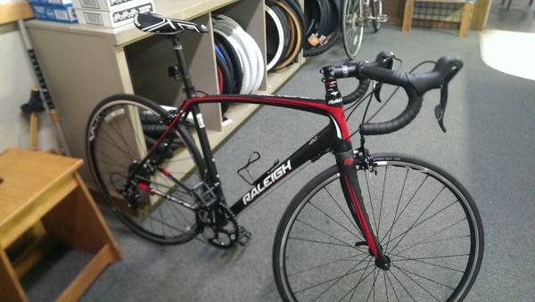 Brand New Raleigh Revenio 2 0 w carbon fork call 661 857 5878 for info  monroe