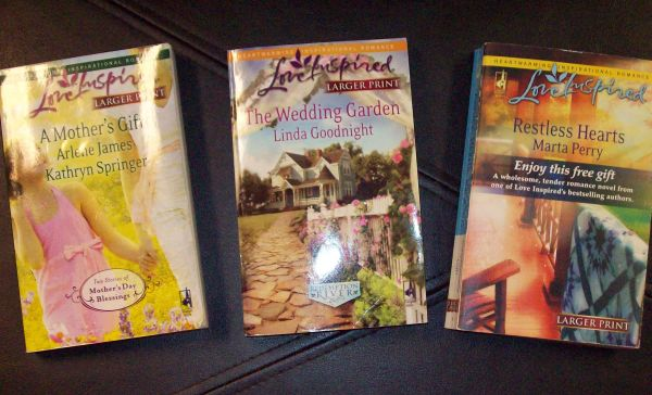 Love Inspired (inspirational romance) paperbacks (wm, la)