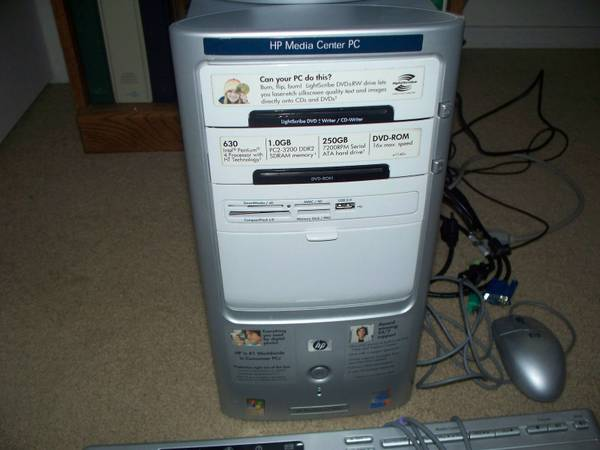 HP Pavilion complete system Like New - $90 (Clinton, MS)
