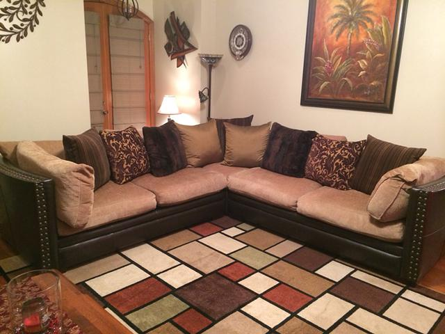 500  Sectional for sale     500   Gonzales