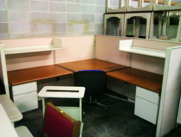 Steel Case Office Furniture - $75 (2245 Hwy 80 W, Jackson Ms)