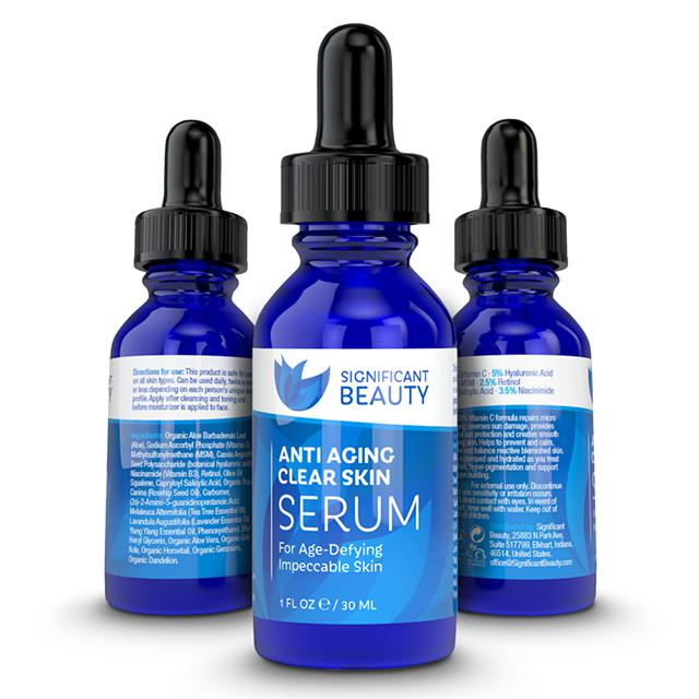 17  The Hardest Working Anti Aging Facial Serum