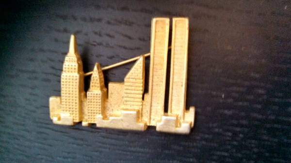 Twin Towers Pendant -  250  Monroe