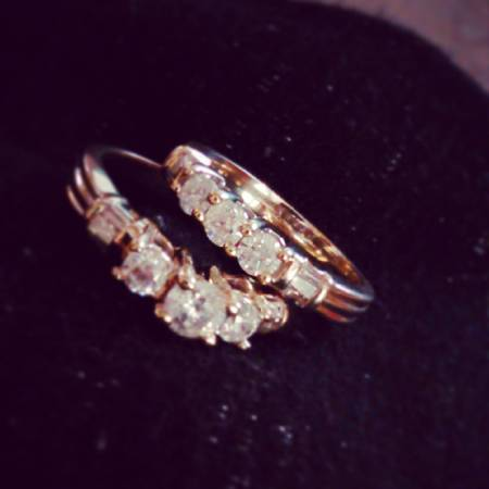 2Karat Diamond Ring set -   x0024 850