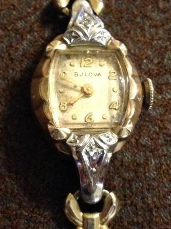 Ladies antique Bulova Watch -  125  Monroe