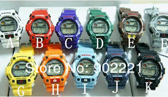 G Shock lot of 11 watches -  200
