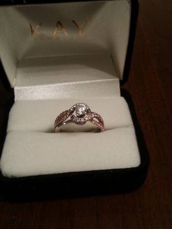 Rose Gold Engagment Ring -  2500  Monroe