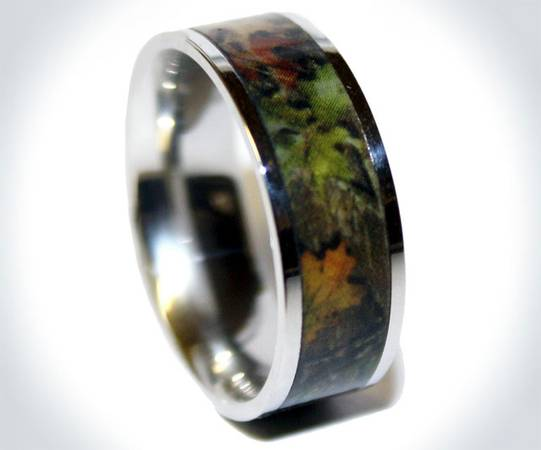 Mens Camo ring -  150  west monroe