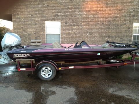 LK 2000 17.5ft Stratos Bass Boat GREAT DEAL - $6000 (Ruston, la)