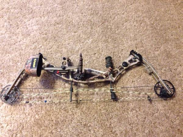 Hoyt Katera Bow - ready to hunt - $450 (Winnsboro, LA)