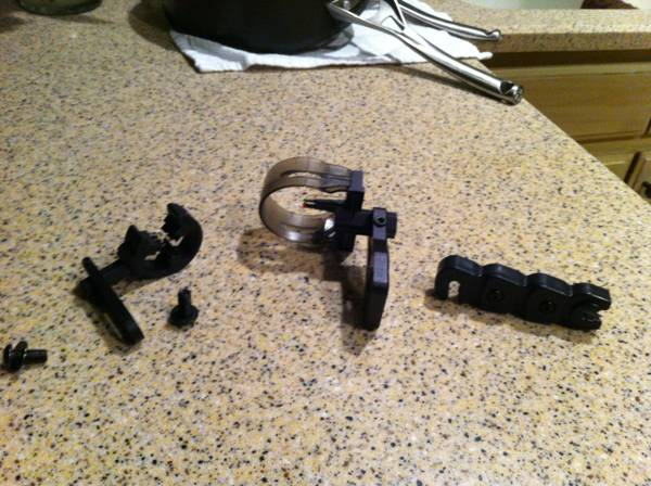 octane hostage arrow rest and sights - $30 (Ruston)
