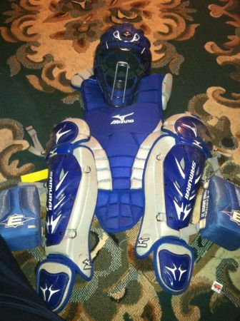 Mizuno Samurai Intermediate Catchers Gear - $175 (Monroe)