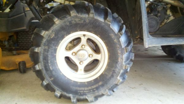 ITP Four Wheeler Wheels Tires - $450 (Start, LA)