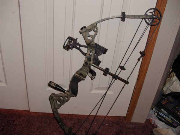 Bow-Tech Blackhawk Compound Bow - $125 (Ruston, La)
