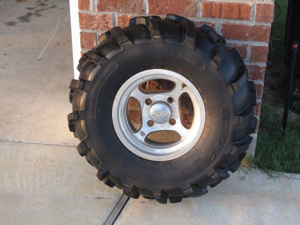 ITP 4 Wheeler Wheels and Tires - $500 (Start, LA)