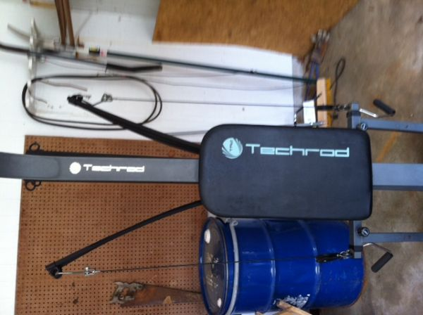 Techrod home gym - $50