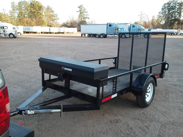 Heavy Built 5x9 Utility Trailer - $700 (West Monroe)