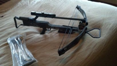 Jennings Devastator crossbow w Bushnell scope - $150 (west monrow)